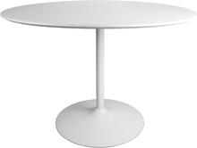 Kylie - Hvidt rundt spisebord Ø110 (Leveres fra uge 29, 2020)