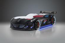 Bil seng Speedy Boy 7000 Sort- med LYD og LED LYS