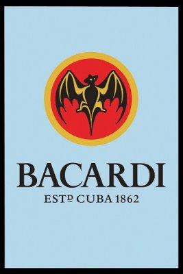 Pubspegel Bacardi