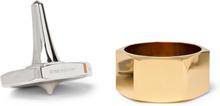 Decision Maker Desk Spinner - Gold