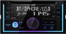 JVC KW-R930BT, Sort, 2 DIN, 50 W, MOSFET, AAC,FLAC,MP3,WAV,WMA, LCD