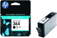 Bläckpatron HP 364 svart pigment, 250 sidor