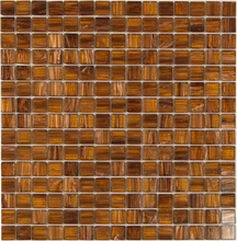 Nordic Kakel Glasmosaik 32,7X32,7-Caramel
