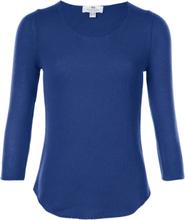 Pullover aus 100% PREMIUM Kaschmir Peter Hahn Cashmere blau
