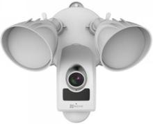 EZVIZ LC1, IP-säkerhetskamera, Utomhus, Trådlös, Vägg, Vit, Gjuten aluminium, Plast