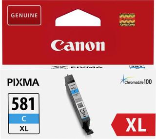 Canon Blækpatroner CLI-581C XL Original Cyan 2049C001 Blækpatroner