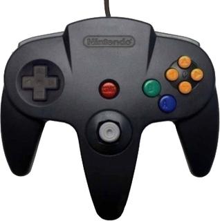 Nintendo 64 Controller - Black - Original Used
