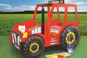 Traktorseng – inkl. madrass 90 x 180