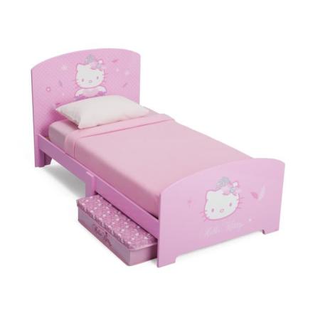 Hello Kitty Seng m/oppbevaring