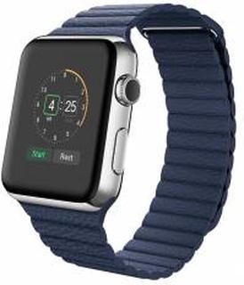 Rem til Apple Watch 38mm & 40mm Blå