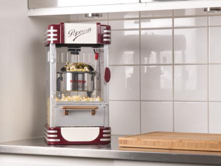 Popcornmaskin Cinema Style UK-plug