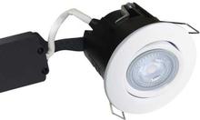 Nordtronic Master Uni Install 63 Rund Indbygningsspot med indbygget dæmper 5W/830 LED GU10, Hvid