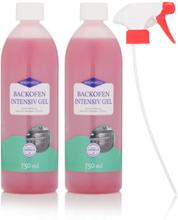 Backofen- & Grill Gelreiniger, 2x 750 ml