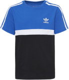 adidas Originals Tshirt med tryck blue/white/black