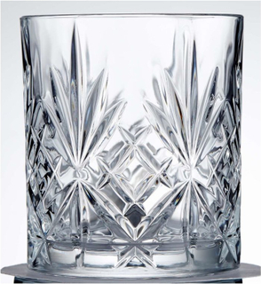 Whiskyglas Melodia i kristall 6-pack Lyngby Glas