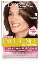 L'Oreal Excellence Creme Hair Color 5 Natural Brown 1 kpl