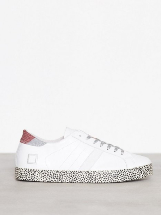 Low Top - Hvit D.A.T.E. Sneakers Hill low Print Drop