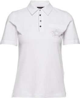 Polo Shirt T-Shirts & Tops Polos Hvid Brandtex