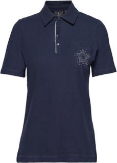 Polo Shirt T-Shirts & Tops Polos Blå Brandtex
