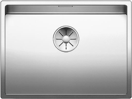 Blanco Claron 550-IF/N UXI Køkkenvask 59x44 cm m/InFino kurveventil, Rustfrit stål