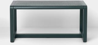 Liten Arkitektbänk Dark Green RAL6012