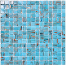 Nordic Kakel Mosaik 32,7X32,7-Turkos
