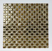 Nordic Kakel Kristallmosaik Metall 30X30-Guld