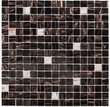 Nordic Kakel Mosaik 32,7X32,7-Brun
