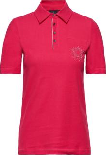 Polo Shirt T-Shirts & Tops Polos Lyserød Brandtex