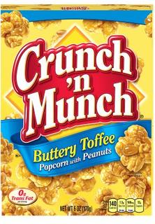 Crunch 'n Munch Buttery Toffee popcorn 99 g