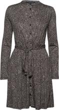 Brunella Meadow Jersey Belted Shirt Dress Kort Kjole Grå French Connection