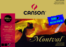 Canson Montval 200g Fin gäng