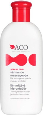 ACO Special Care Värmande Massageolja 150 ml