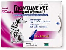 Frontline vet., spot-on, lösning 100 mg/ml 4 x 2,68 ml
