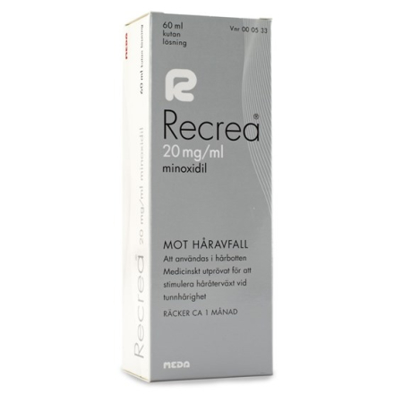 Recrea, kutan lösning 20 mg/ml 60 ml