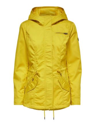 ONLY Seasonal Parka Coat Women Yellow