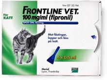 Frontline vet., spot-on, lösning 100 mg/ml 4 x 0,5 ml