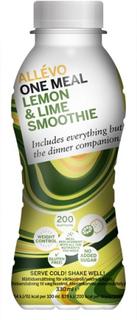 Allévo One Meal Lemon & Lime Smoothie 330 ml