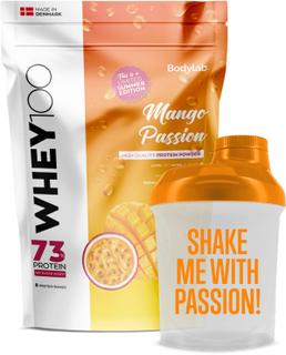 Bodylab Whey 100 (1 kg) - Mango Passion + Mini Shaker