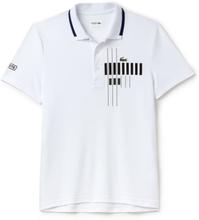 Lacoste Polo Novak Djokovic - Exclusive Edition White/Ocean Black M