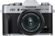Fujifilm Finepix X-T20 Digitalkameras mit XC 15-45mm f/3.5-5.6 OIS Objektiv- Silber