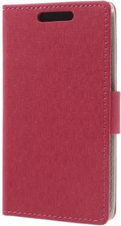 Maze design plånboksfodral till htc desire 601 - htc zara (röd)