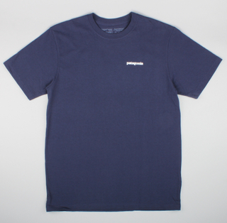 Patagonia T-Shirt P-6 Logo Classic Navy