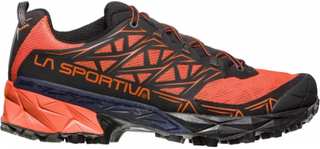 La Sportiva - Akyra men's mountain running shoes (orange/black) - EU 41,5 - UK 7,5