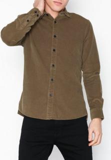 Only & Sons onsMARSHALL Ls Corduroy Shirt Skjortor Ljus Brun