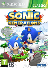 Sonic Generations (Classics) (Xbox 360)