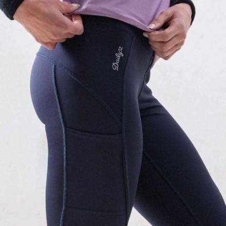 Fitness tights (Färg: Mörkblå, Storlek: S)