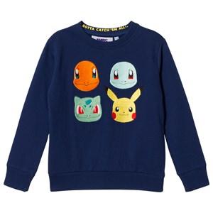 Fabric Flavours Blue Pokemon Aloha Sweatshirt 3-4 years - Babyshop