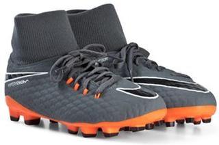 new styles bb738 4c7f6 NIKE Hypervenom Phantom Firm Ground Fotbollsskor Dark Grey Orange 38 (UK 5)