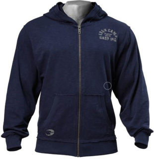 Gasp Throwback Zip Hoodie - Dark Navy - Hettejakke